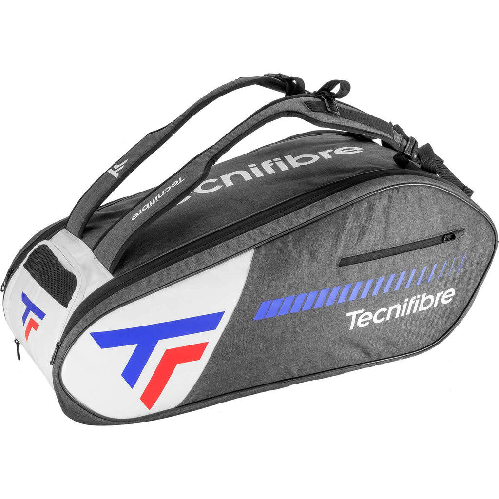 Tecnifibre Team Icon 9 Racket Bag - Black/White-All Things Tennis-UK tennis shop