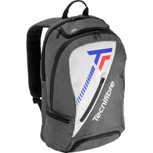 Tecnifibre Team Icon Backpack - Grey/White-All Things Tennis-UK tennis shop