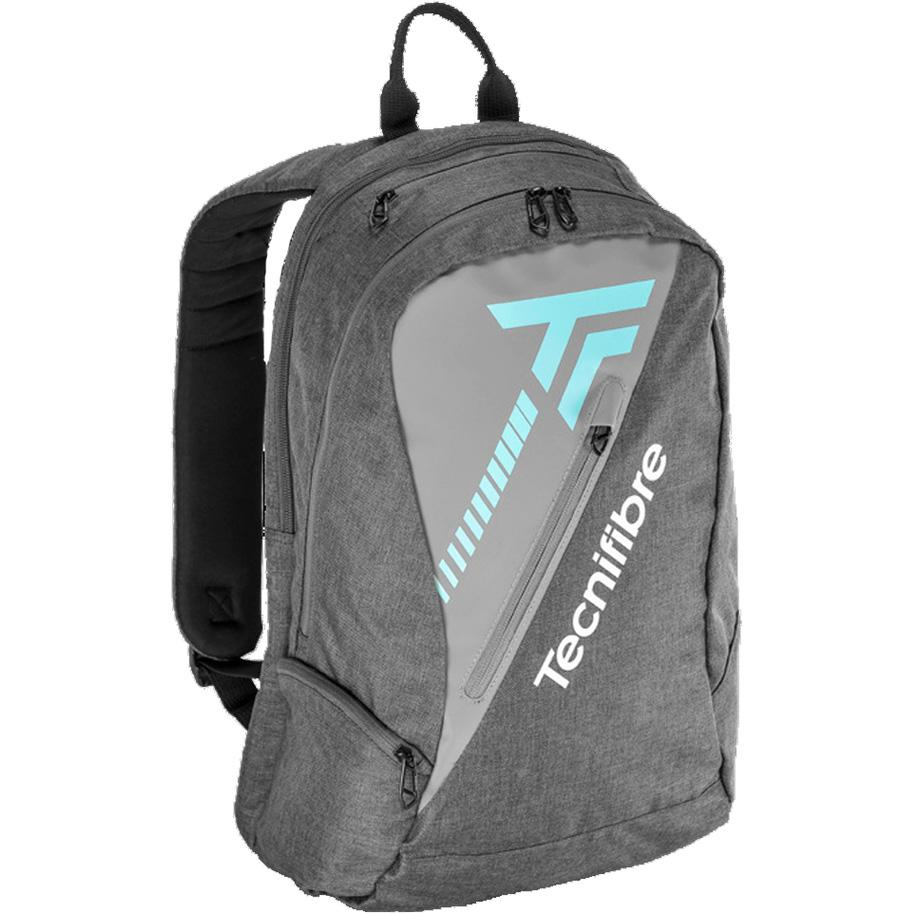 Tecnifibre Womens Tempo Backpack - Grey/Blue-All Things Tennis-UK tennis shop