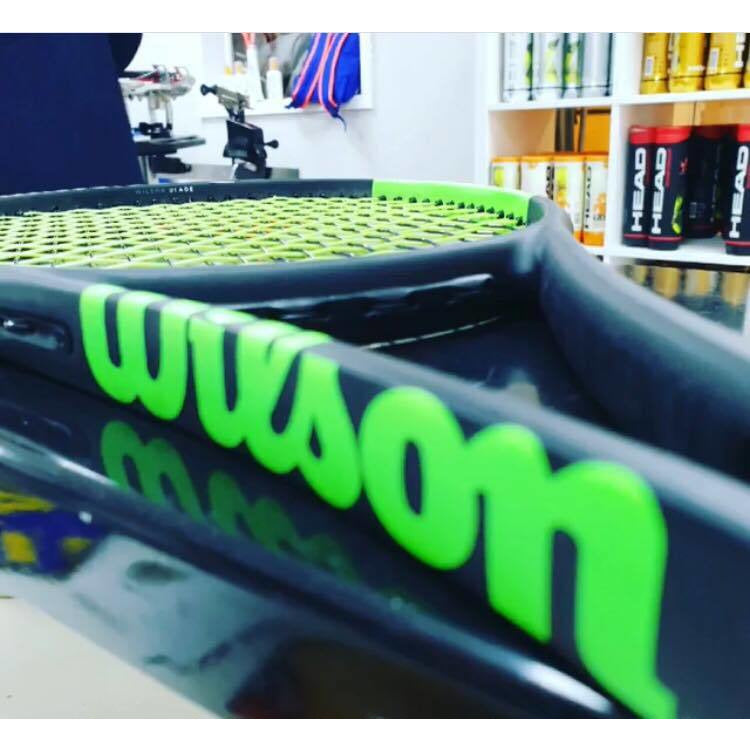 Premium Restringing Send to Us - Independent tennis shop All Tbings Tennis