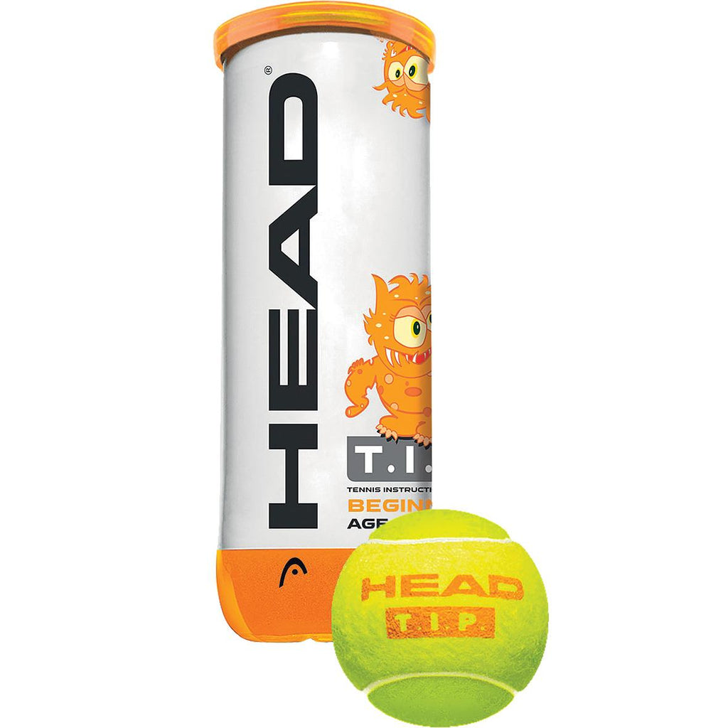 Head T.I.P Orange Trainer Tennis Balls-Quantity Discounts - All Things Tennis