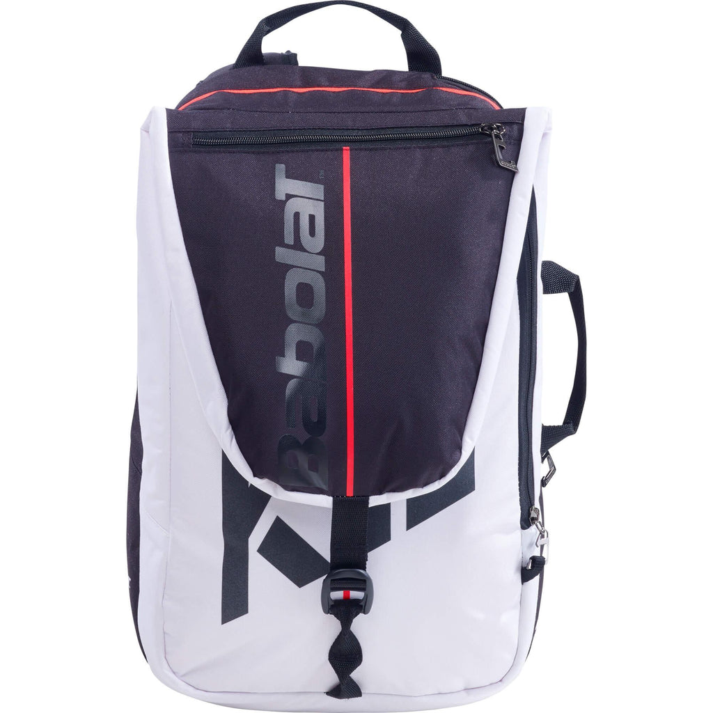 Babolat Pure Strike Backpack - White/Red - All Things Tennis