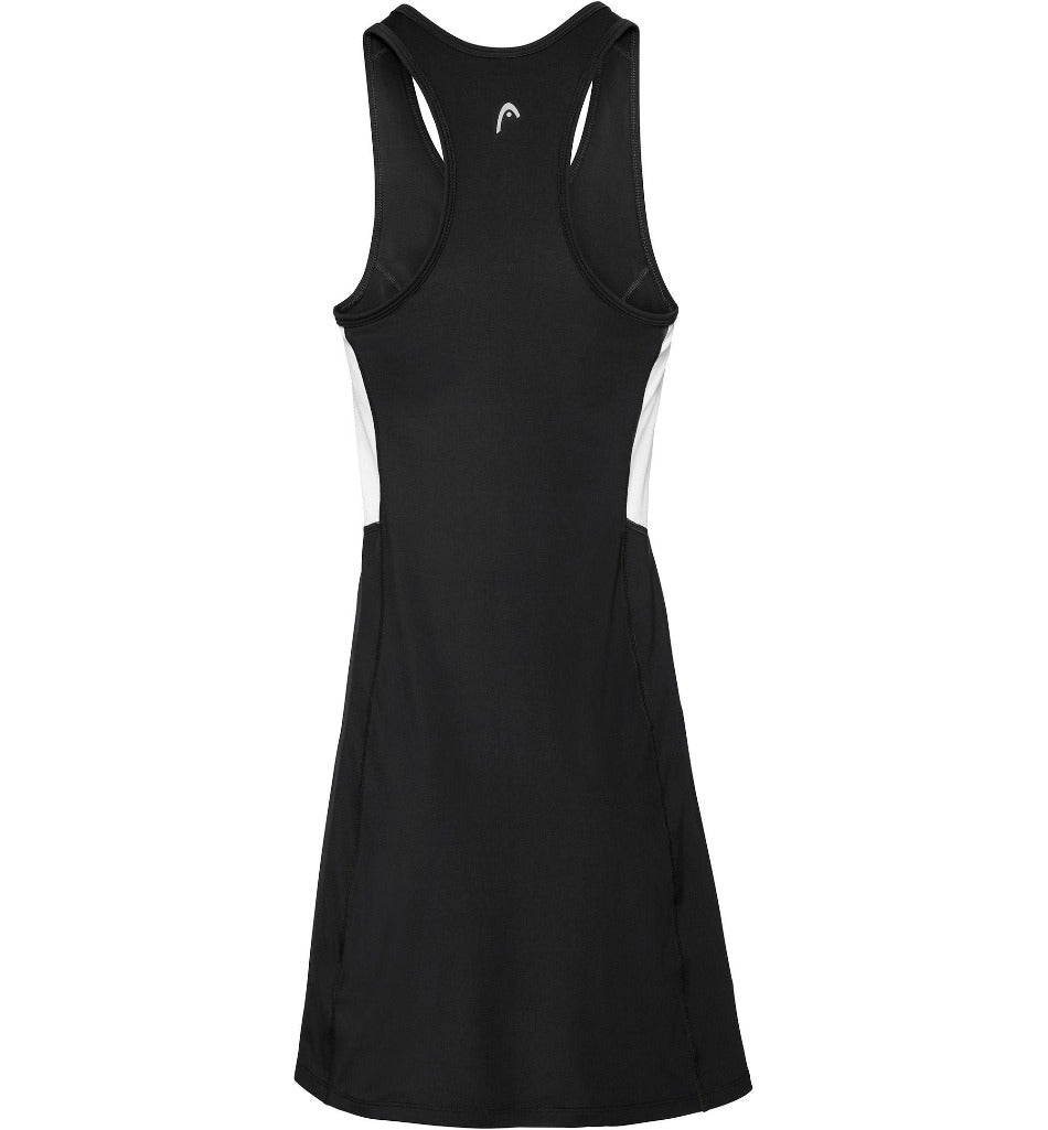 Head Womens Club Dress - Black-All Things Tennis-UK tennis shop