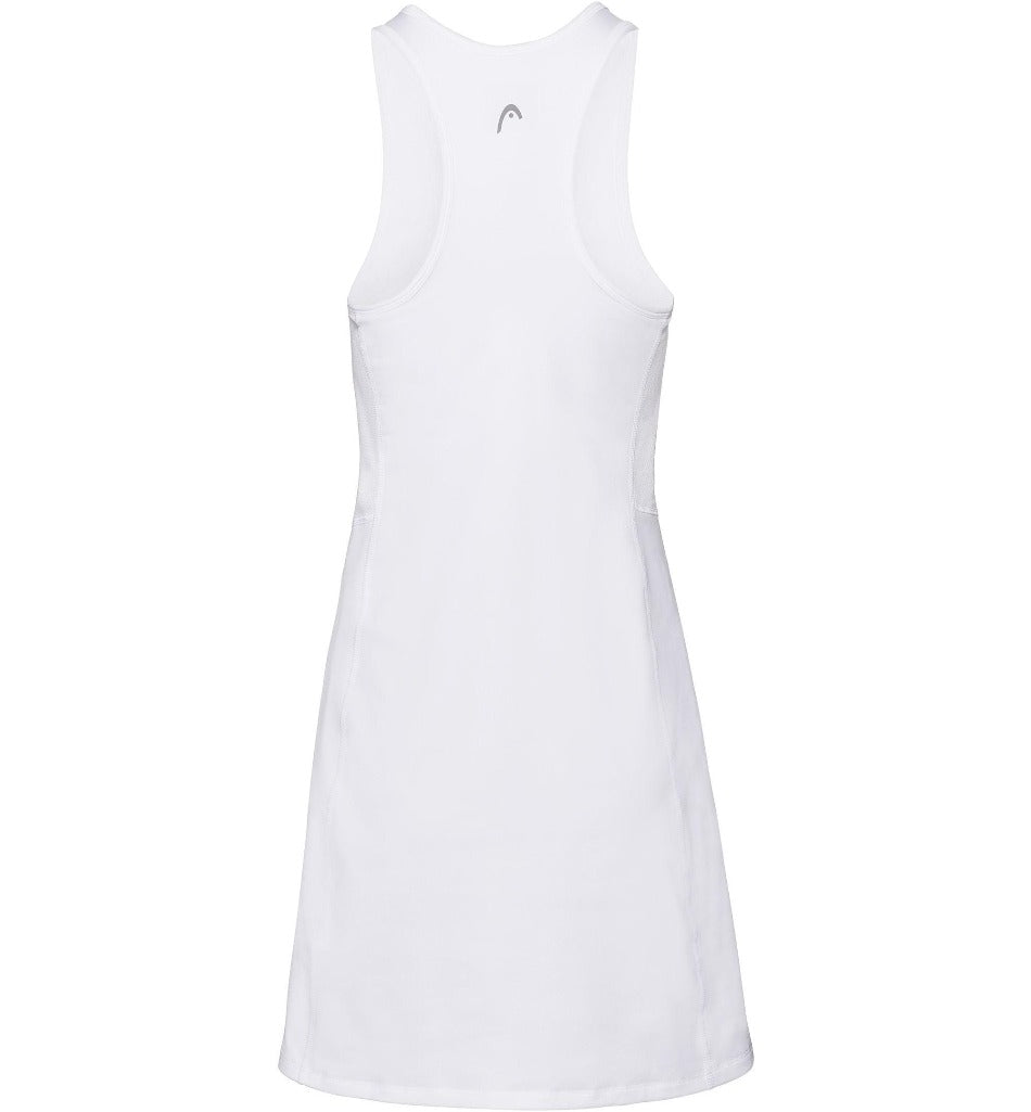 Head Womens Club Dress - White-All Things Tennis-UK tennis shop