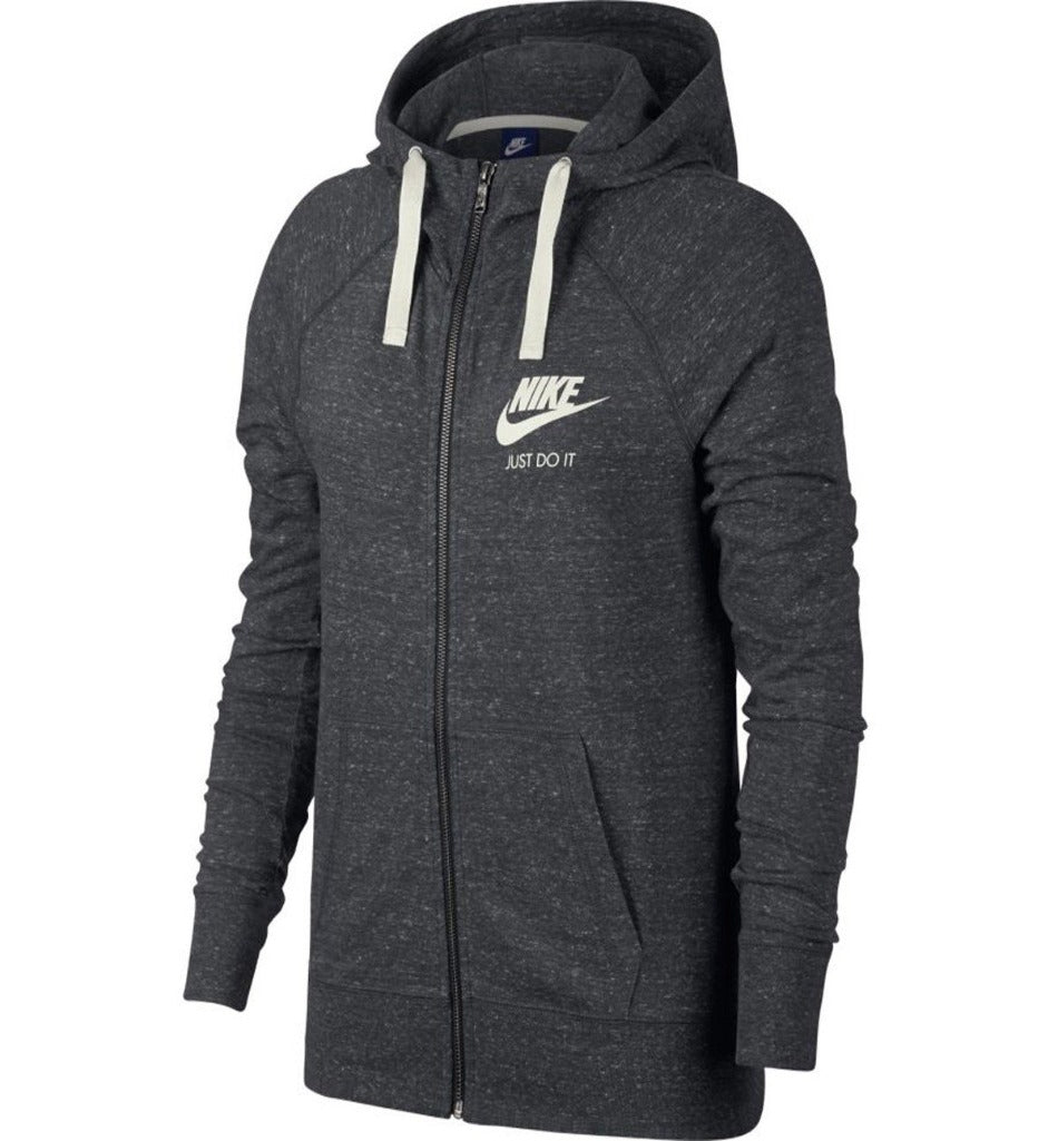 WOMEN'S NIKE ZIPPED HOODIE-All Things Tennis-UK tennis shop