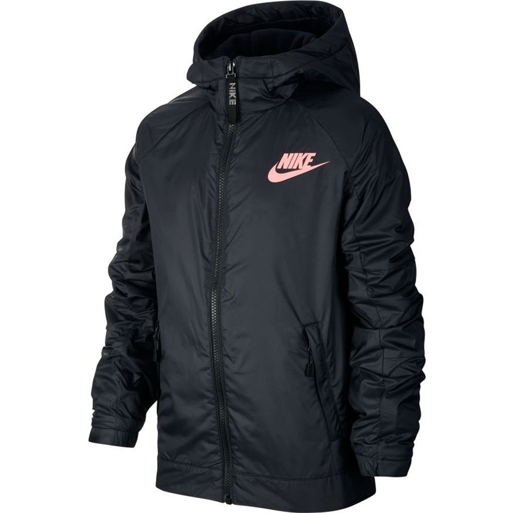 JUNIOR NIKE FLEECE JACKET WITH HOOD - Independent tennis shop All Tbings Tennis