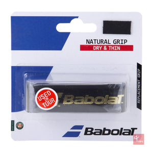 Babolat Natural Grip Replacement Grip-Various Colours - Independent tennis shop All Tbings Tennis