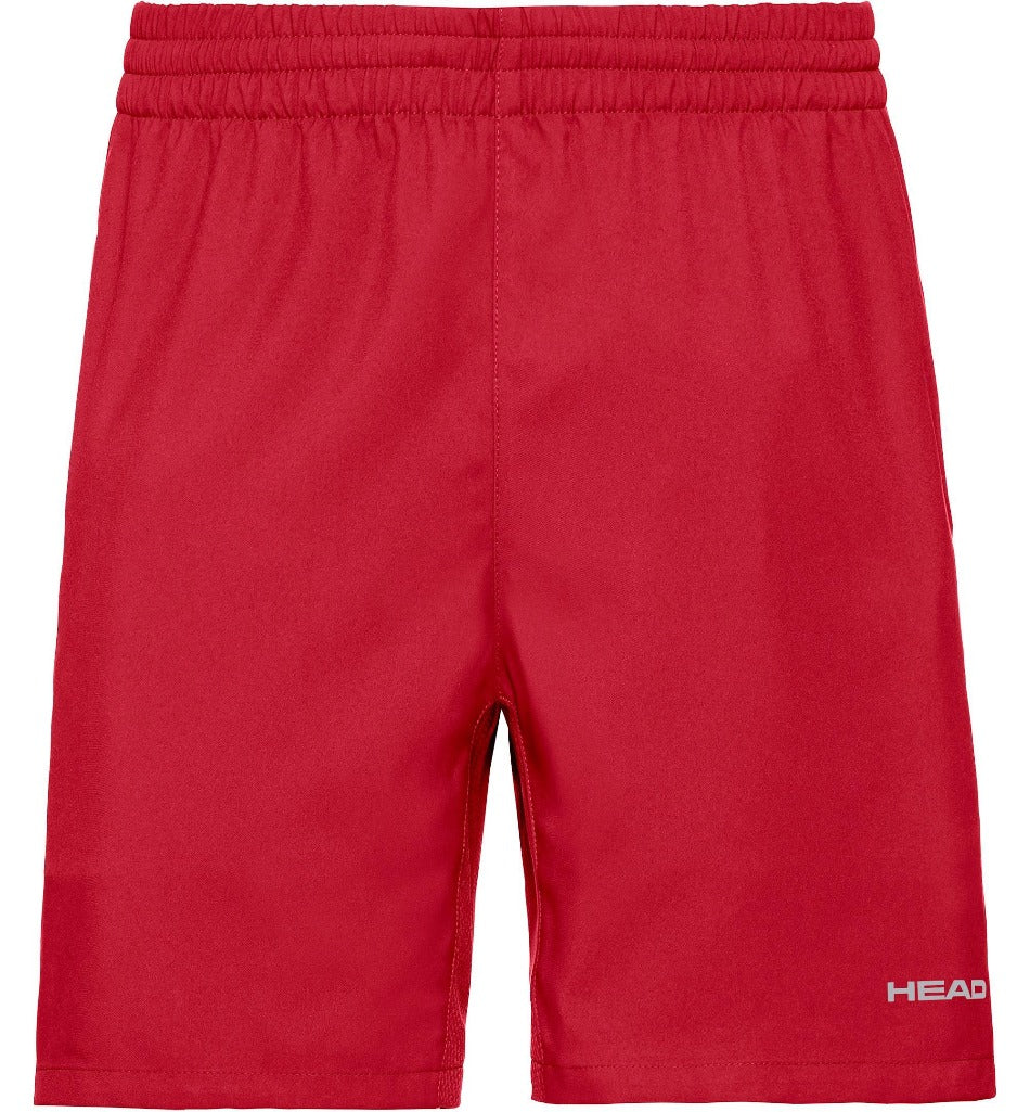 Head Mens Club Shorts - Red-All Things Tennis-UK tennis shop