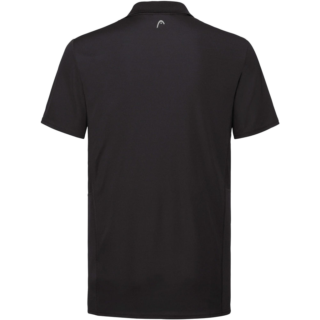 Head Mens Club Tech Polo - Black-All Things Tennis-UK tennis shop