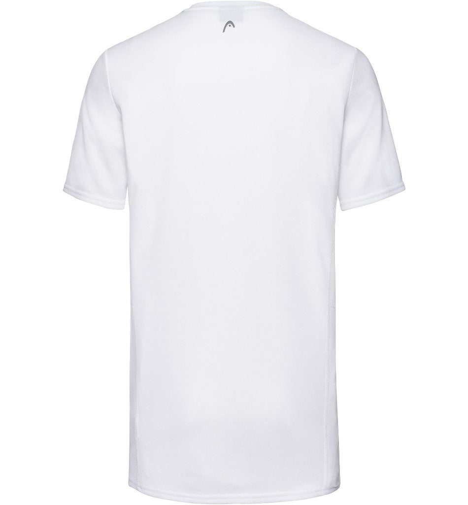 Head Mens Club Tech T-Shirt -White-All Things Tennis-UK tennis shop