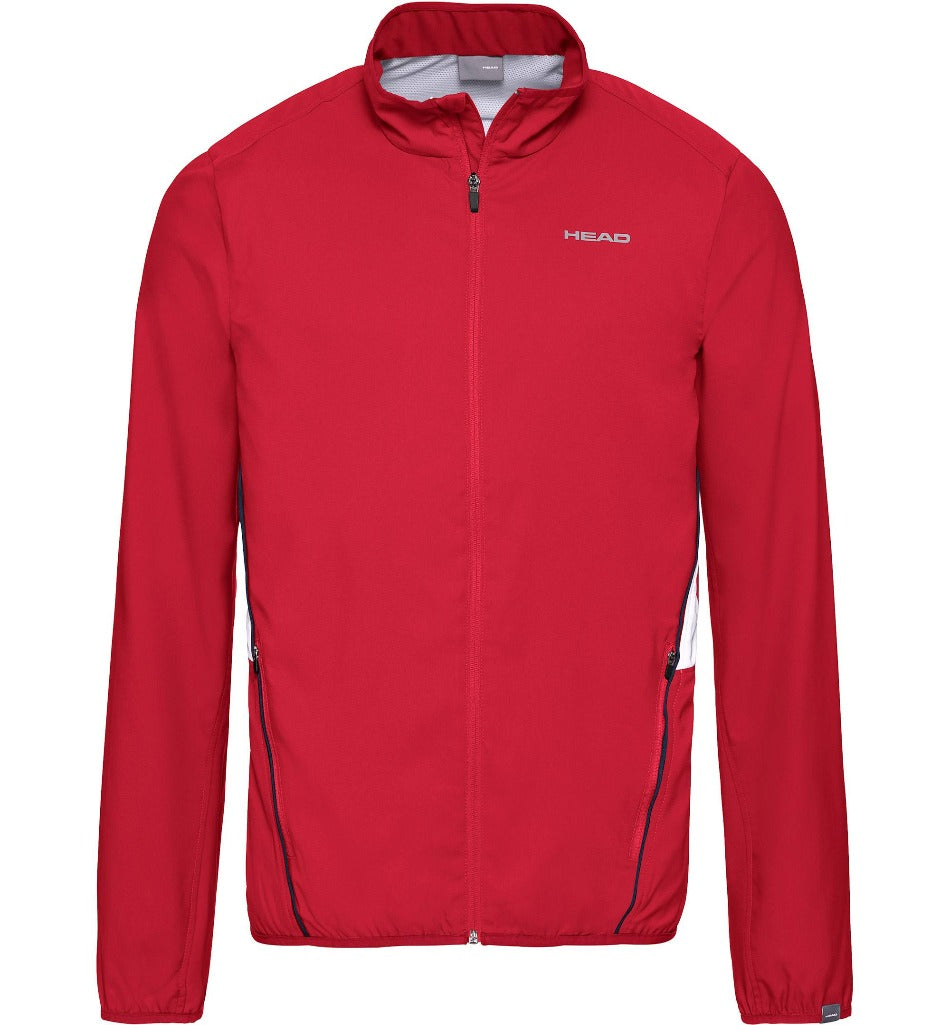 Head Mens Club Jacket - Red - All Things Tennis