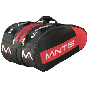 MANTIS 12 Racket thermo - Black/Red-All Things Tennis-UK tennis shop