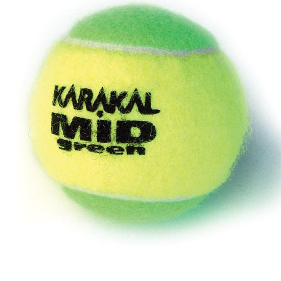 Karakal Mid Green Junior Tennis Balls-Quantity Deals-All Things Tennis-UK tennis shop