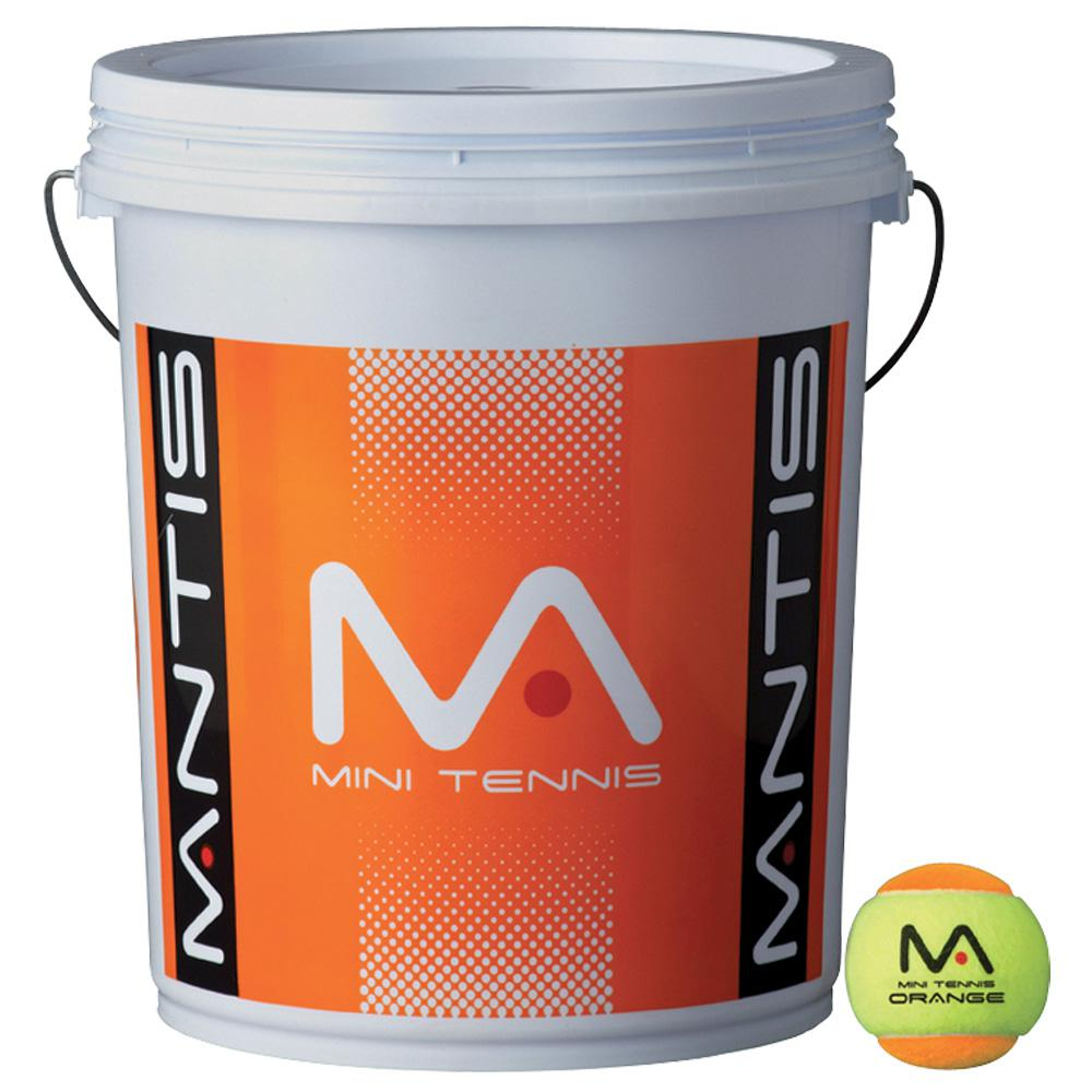 MANTIS Stage 2 Tennis Balls - Bucket-All Things Tennis-UK tennis shop