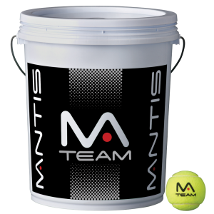 MANTIS Team Tennis Balls - Bucket-All Things Tennis-UK tennis shop