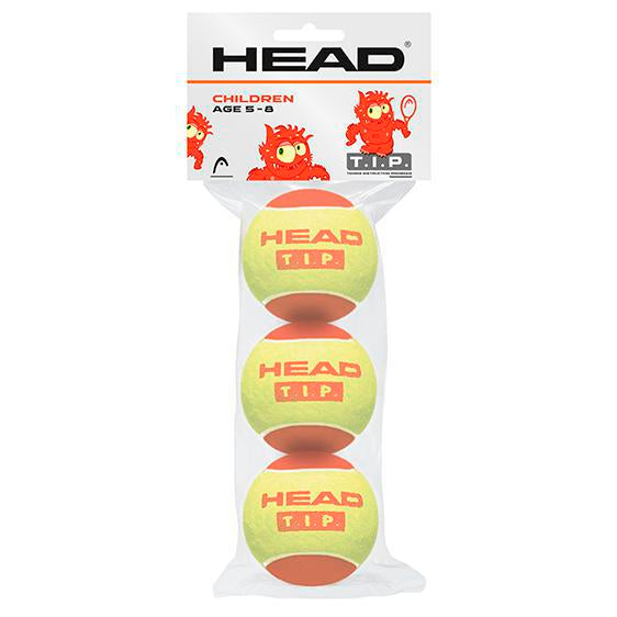 Head T.I.P Red Trainer Tennis Balls-Quantity Discounts-All Things Tennis-UK tennis shop