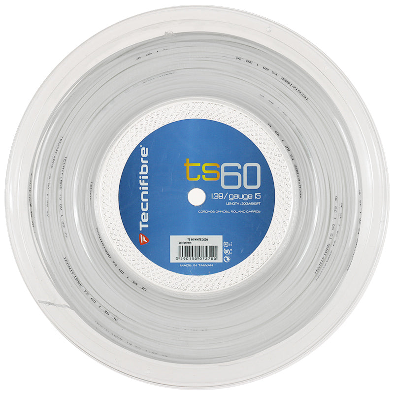 Tecnifibre TS60 200m Reel - Various Gauges-All Things Tennis-UK tennis shop