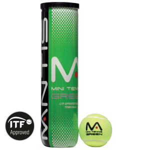 MANTIS Stage 1 Tennis Balls - Tube - Coach - All Things Tennis