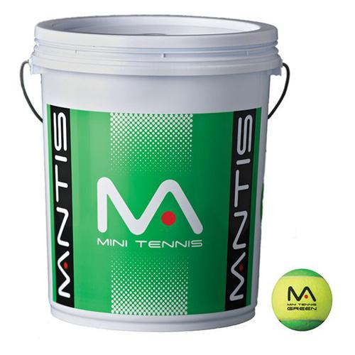MANTIS Stage 1 Tennis Balls - Bucket-All Things Tennis-UK tennis shop
