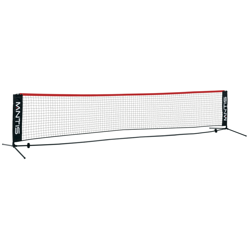 MANTIS Mini Tennis Net - 6m with 6x Free MIni Red balls - All Things Tennis