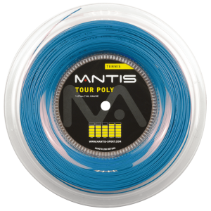 MANTIS Tour Polyester String 16L - Reel (200m) - All Things Tennis