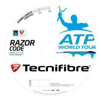 Tecnifibre Razor Code ATP Tennis String Reel - Various Colours - Independent tennis shop All Tbings Tennis