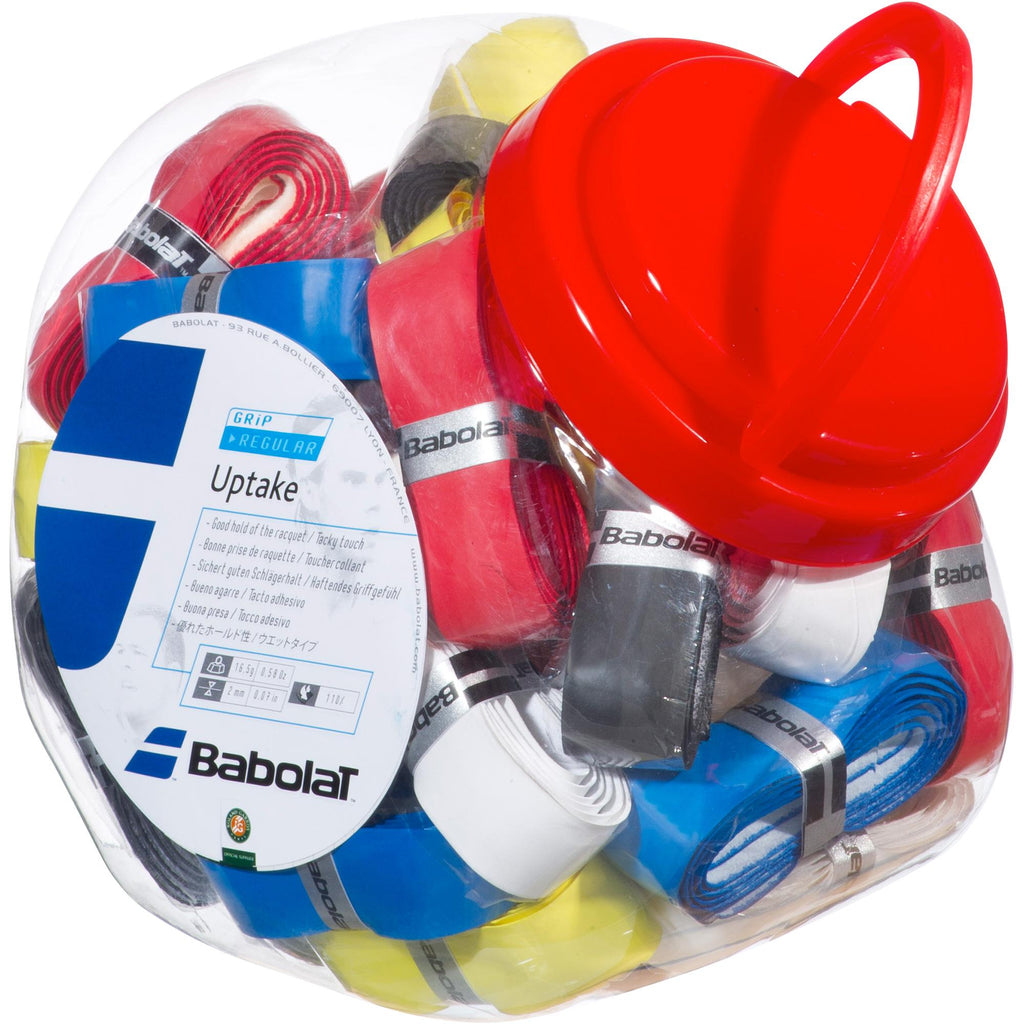 Babolat Uptake Replacement Grip Assorted (30 Jar)-All Things Tennis-UK tennis shop