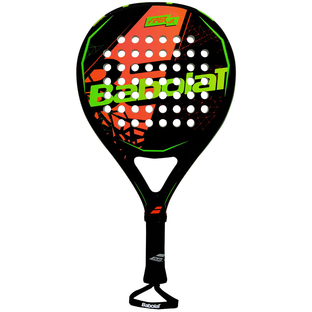 Babolat Viper Junior Padel Racket - Black/Orange-All Things Tennis-UK tennis shop