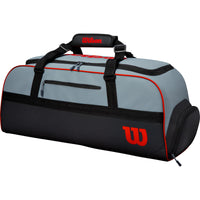 Wilson Clash Large Duffel Racket Bag - Grey-All Things Tennis-UK tennis shop