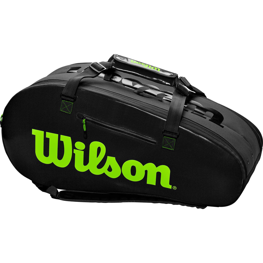 Wilson Super Tour 9 Racket Bag - Black-All Things Tennis-UK tennis shop
