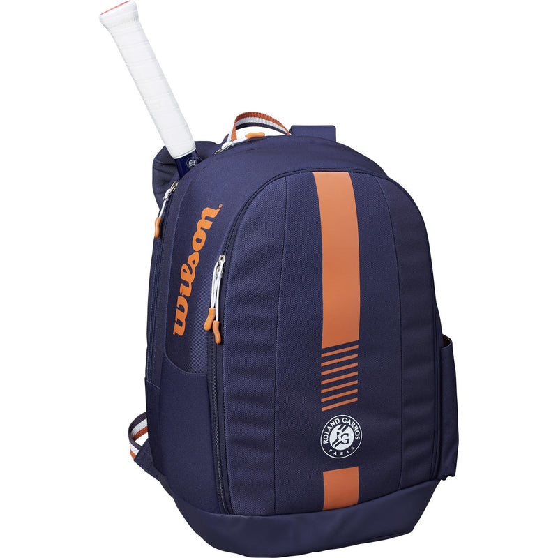 Wilson Roland Garros Team Backpack - Navy/Clay - All Things Tennis