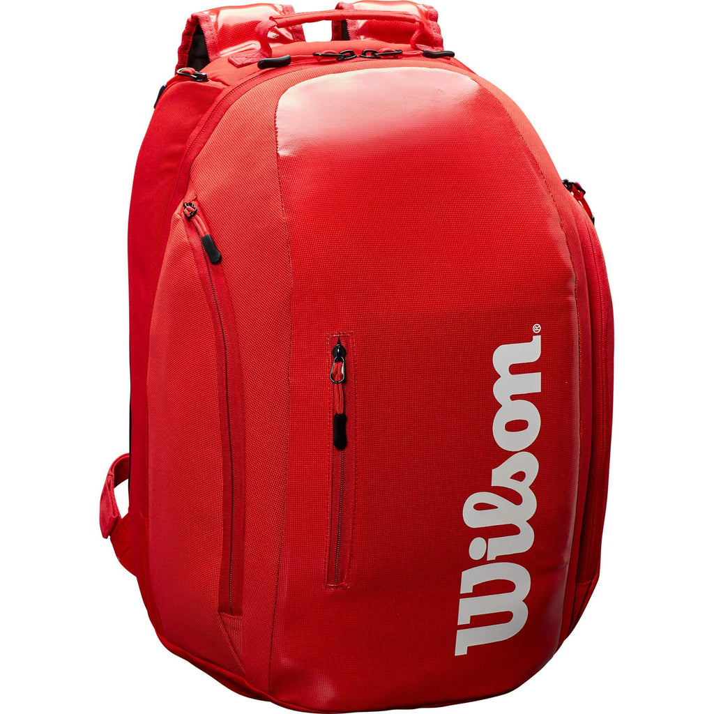 Wilson Super Tour Backpack - Red-All Things Tennis-UK tennis shop