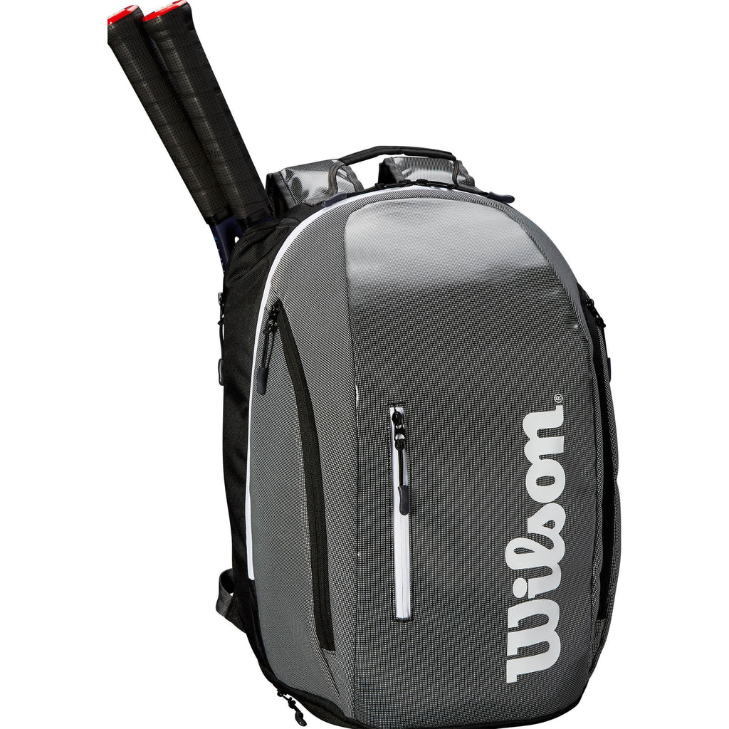 Wilson Super Tour Backpack - Black/Grey-All Things Tennis-UK tennis shop