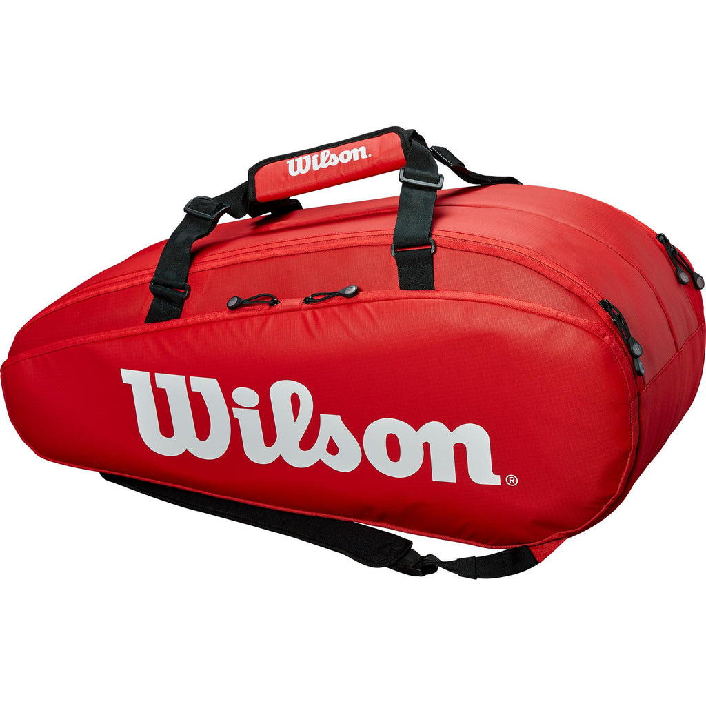 Wilson Tour 9 Racket Bag - Red - All Things Tennis