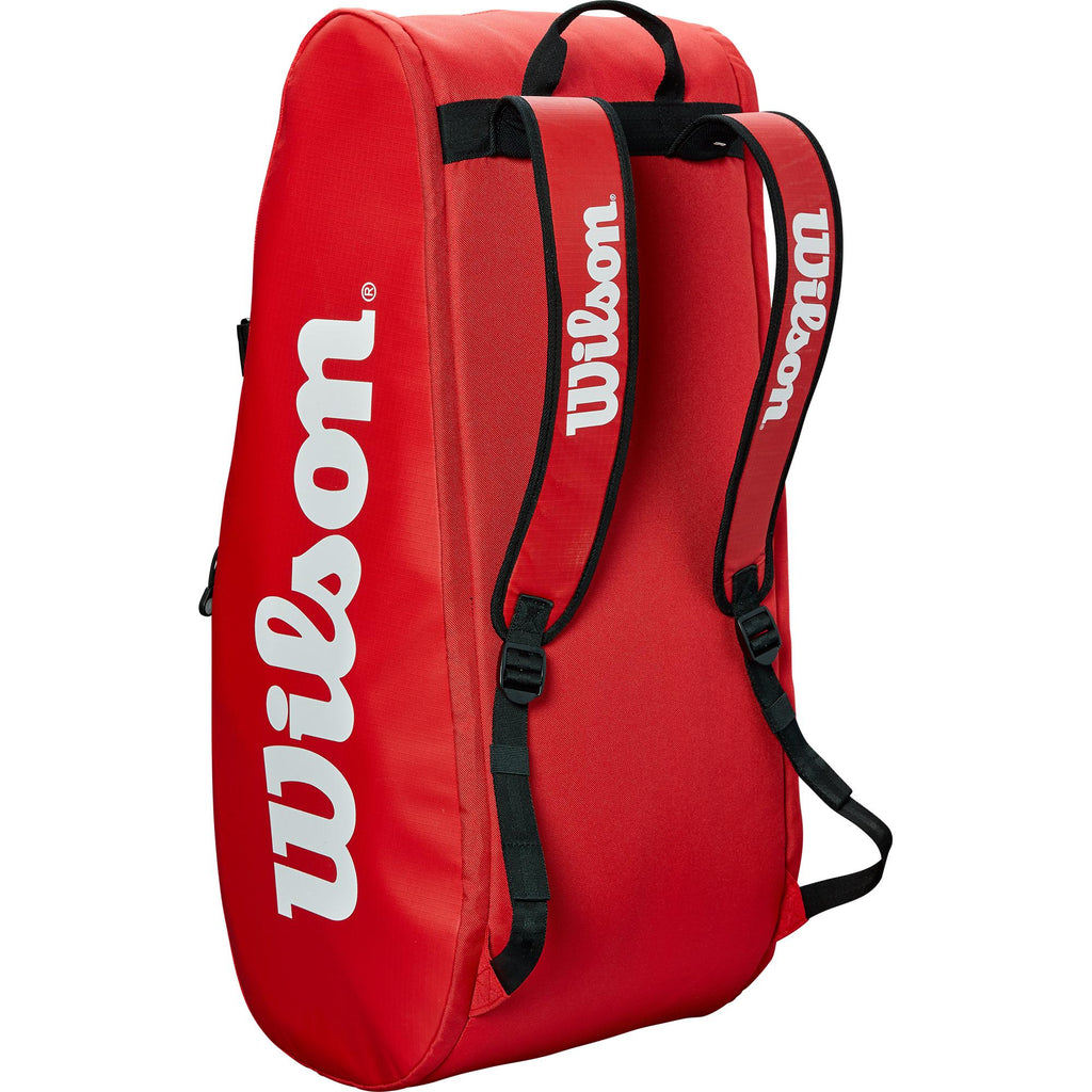 Wilson Tour 9 Racket Bag - Red-All Things Tennis-UK tennis shop