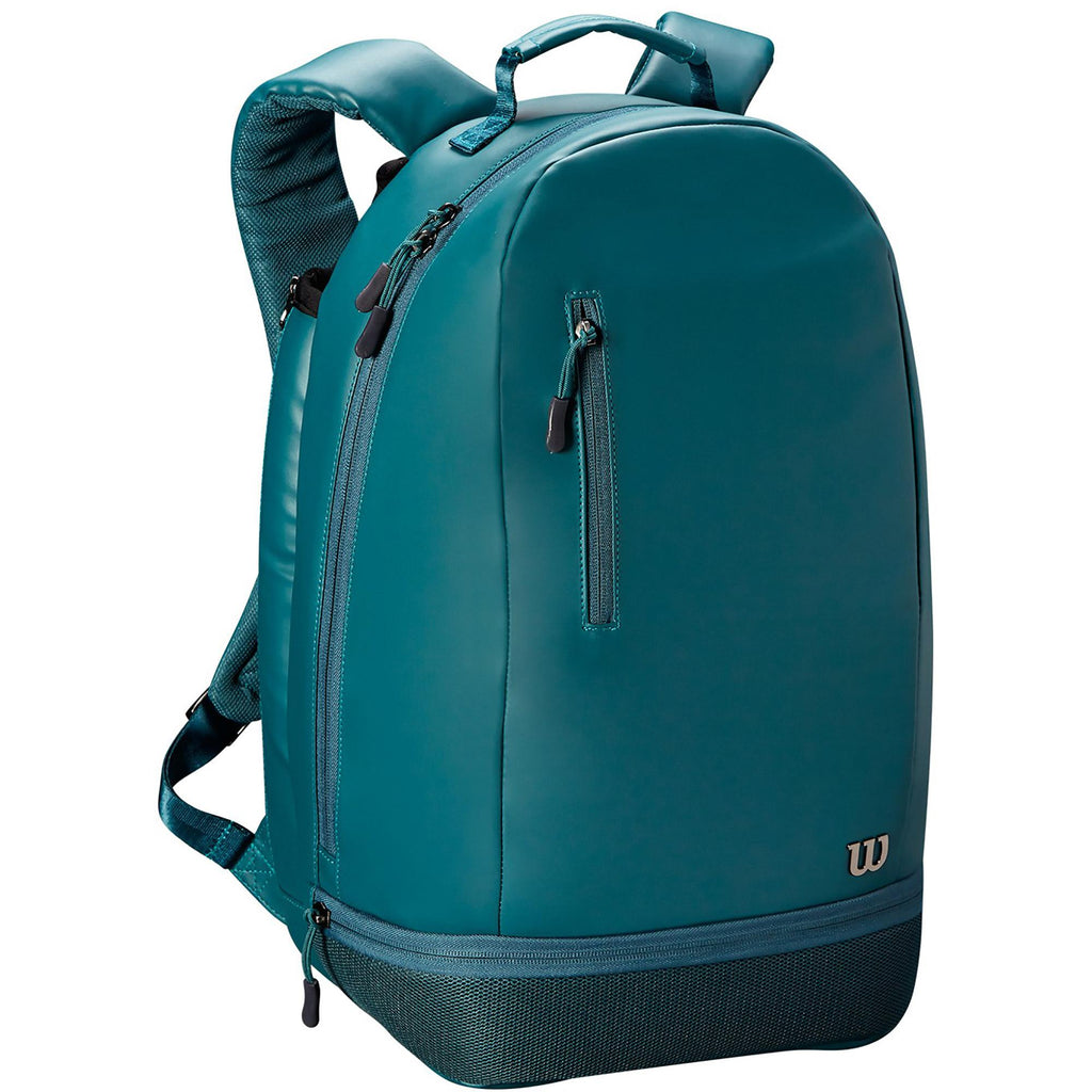 Wilson Womens Minimalist Backpack - Green-All Things Tennis-UK tennis shop
