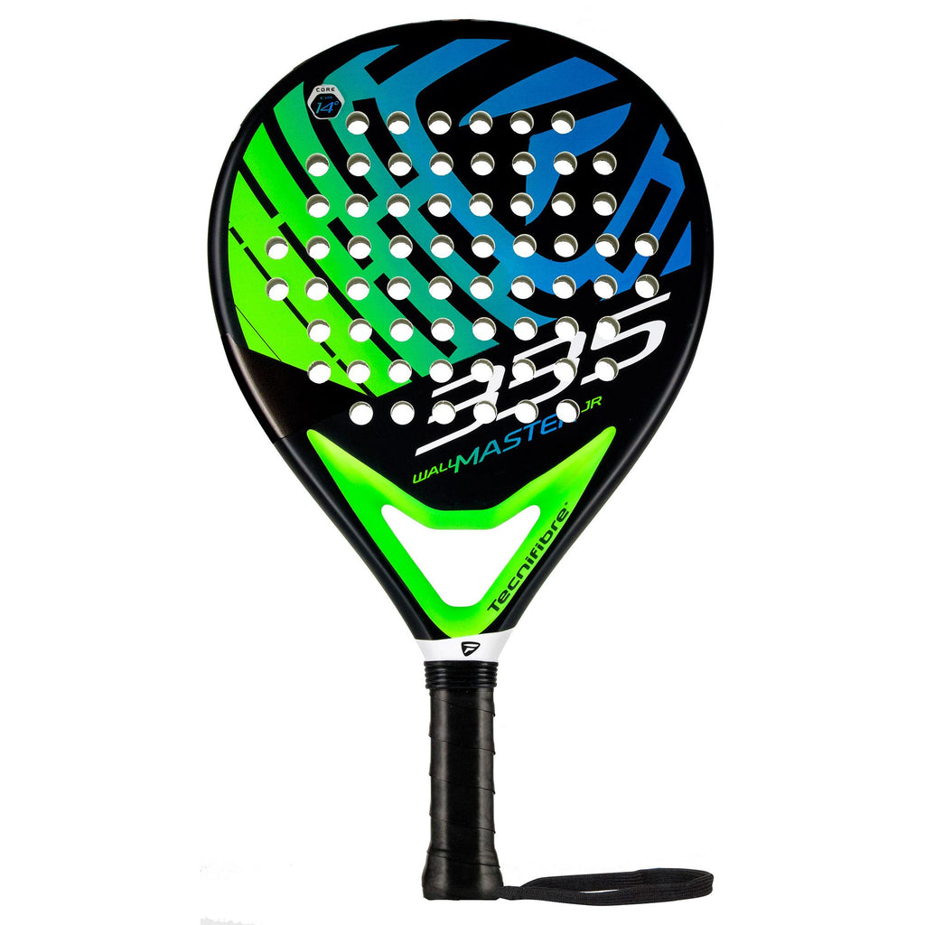 Tecnifibre Wall Master 335 Junior Padel Racket - Black/Green - All Things Tennis