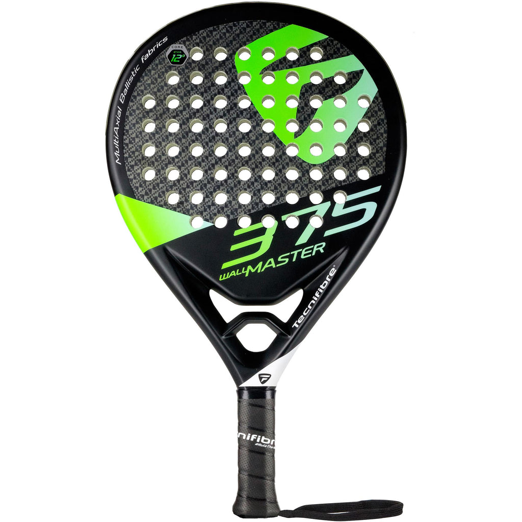 Tecnifibre Wall Master 375 Padel Racket - Black - All Things Tennis