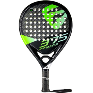 Tecnifibre Wall Master 375 Padel Racket - Black - Independent tennis shop All Tbings Tennis