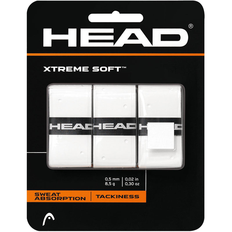 Head Xtreme Soft Overgrip (Pack of 3)-All Things Tennis-UK tennis shop
