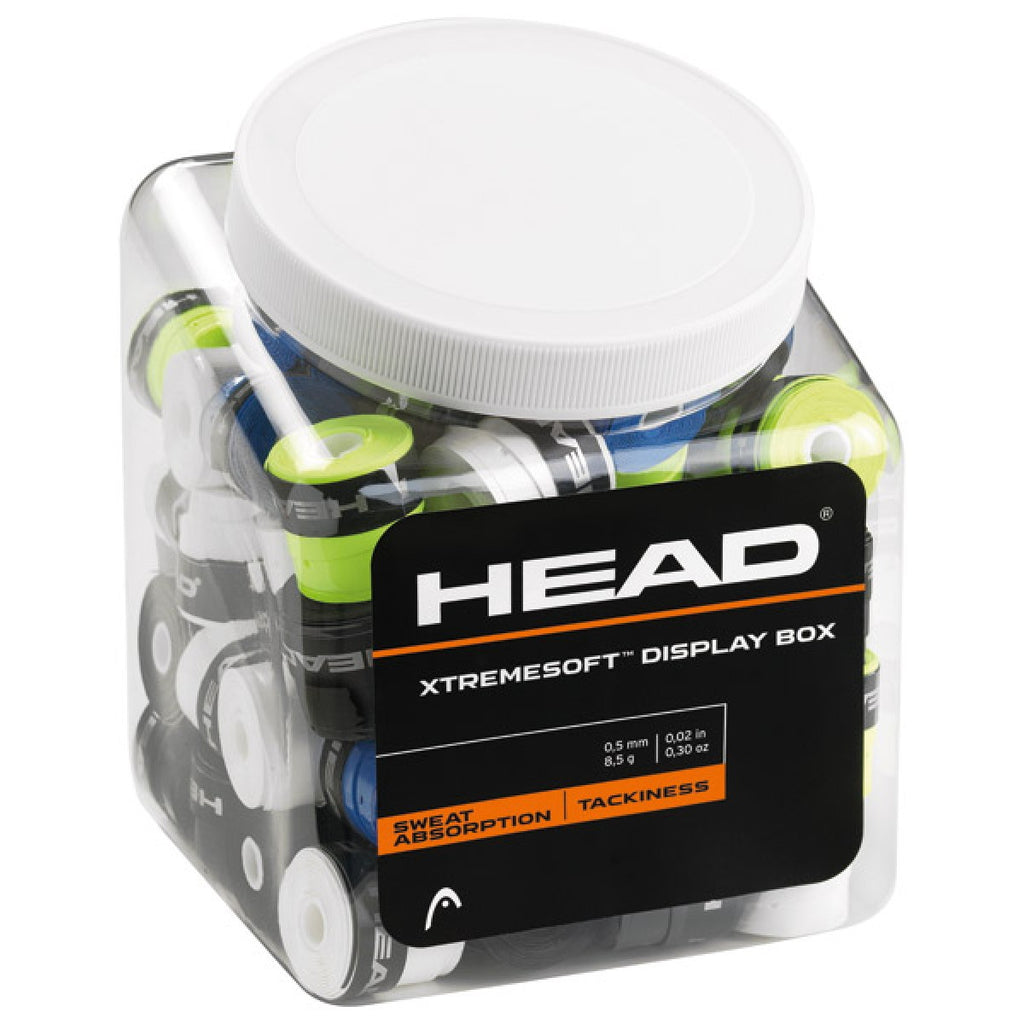 Head XtremeSoft Overgrip (Assorted) 70 Jar - All Things Tennis