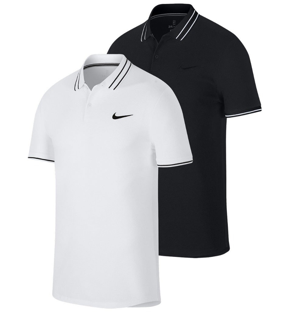 NIKE COURT ADVANTAGE PRACTICE ATHLETES POLO-All Things Tennis-UK tennis shop