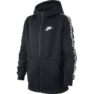 SWEAT NIKE JUNIOR A CAPUCHE ZIPPE-All Things Tennis-UK tennis shop