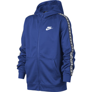 JUNIOR NIKE REPEAT JACKET WITH A HOOD-All Things Tennis-UK tennis shop