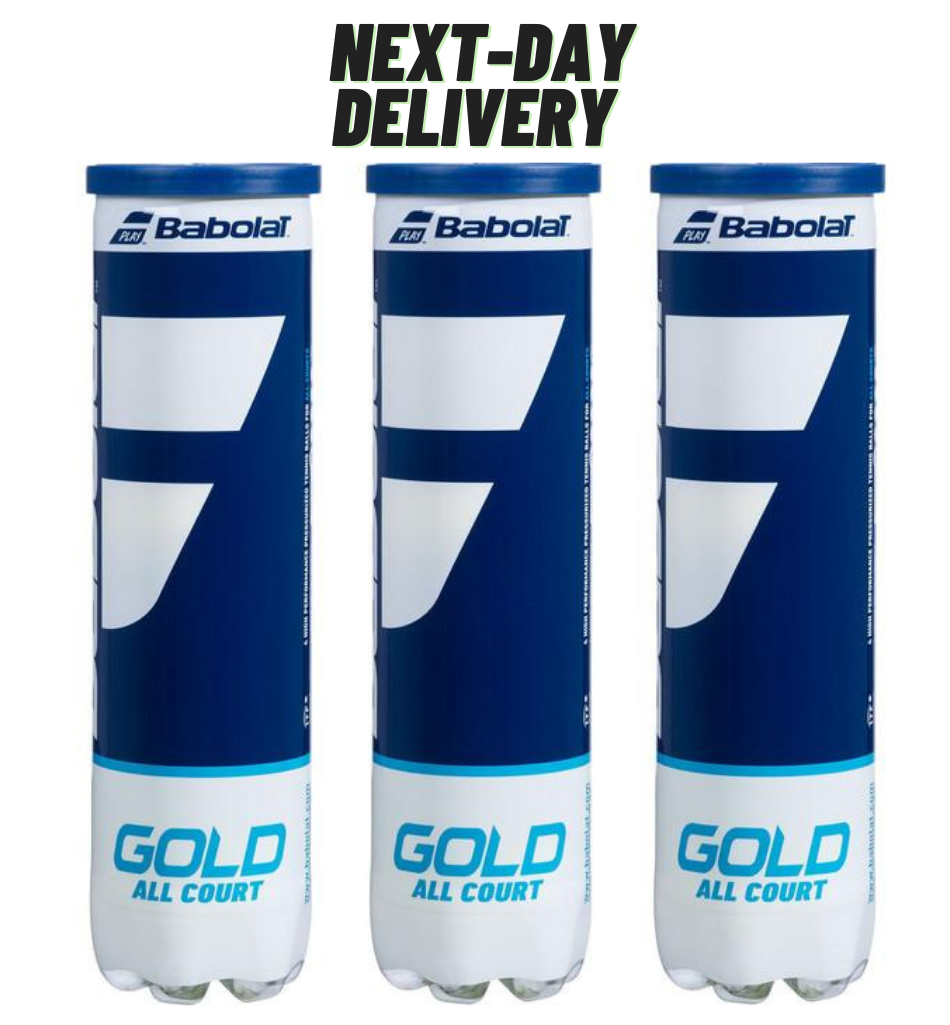 Babolat Gold All Court Tennis Balls - Next day ATT