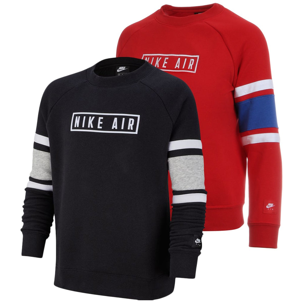 JUNIOR NIKE AIR CREW NECK SWEAT TOP - All Things Tennis