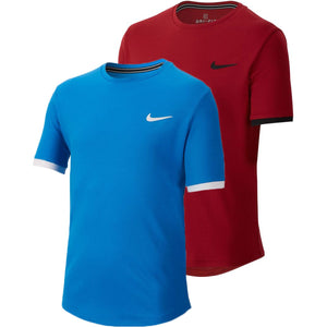 JUNIOR NIKE COURT DRY T-SHIRT - All Things Tennis