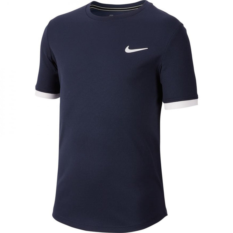 JUNIOR NIKE COURT DRY T-SHIRT-All Things Tennis-UK tennis shop