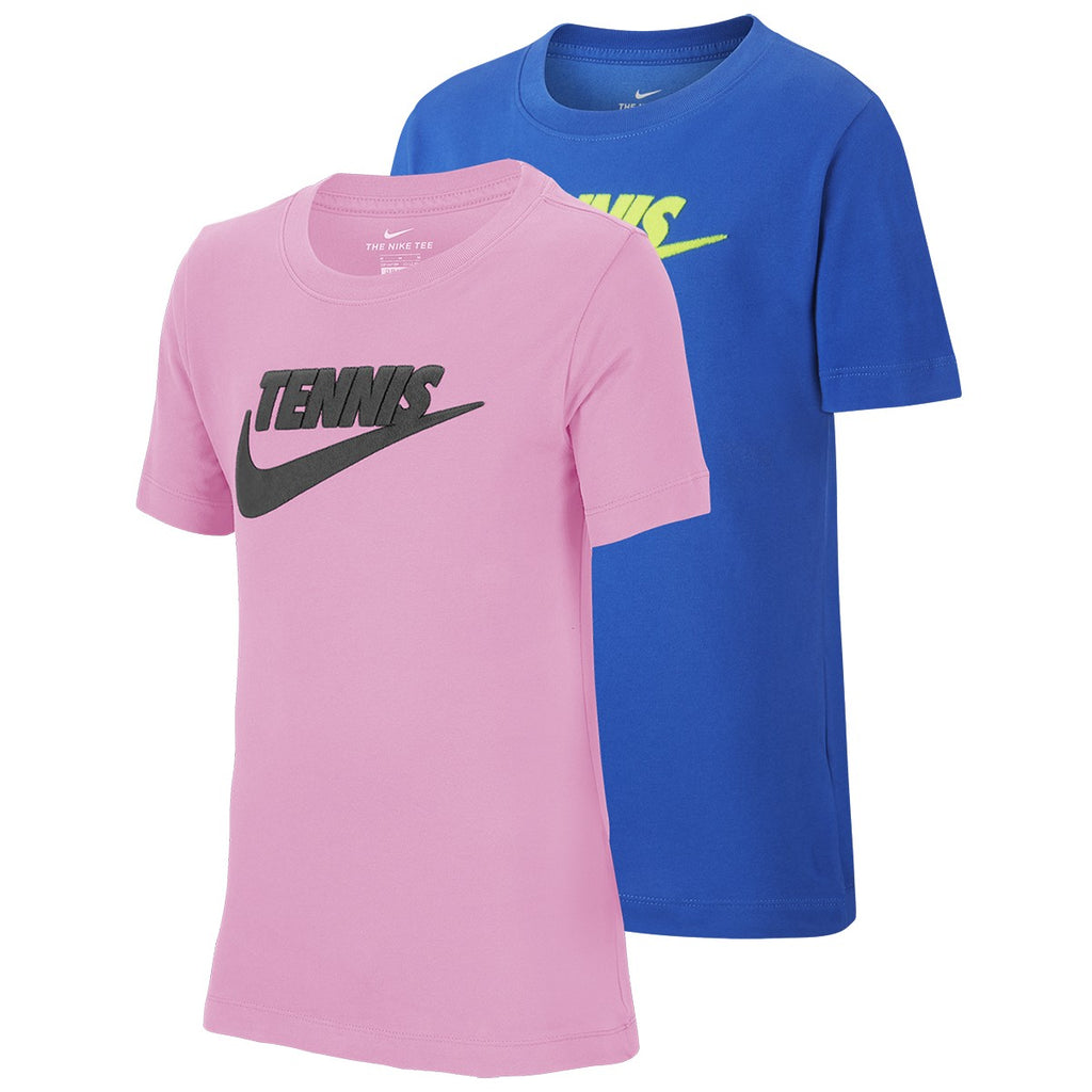 JUNIOR NIKE COURT TENNIS GFX T-SHIRT-All Things Tennis-UK tennis shop