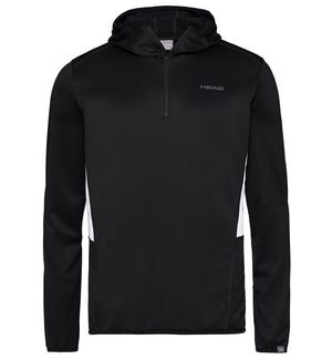Head Mens Club Tech Hoodie - Black - Independent tennis shop All Tbings Tennis